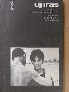 Almási Miklós - Új írás 1970. június [antikvár]