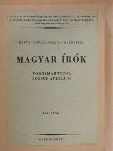 Baróti Dezső - Magyar írók Vörösmartytól József Attiláig [antikvár]