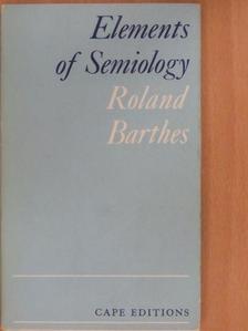 Roland Barthes - Elements of Semiology [antikvár]