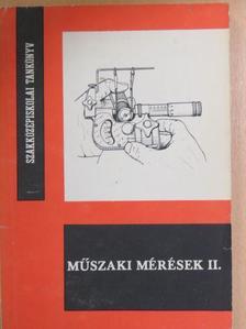 Fábián Tibor - Műszaki mérések II.  [antikvár]