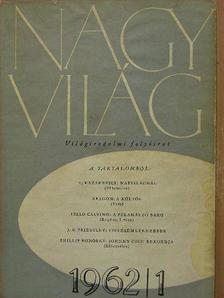 Tóth Judit - Nagyvilág 1962. (nem teljes évfolyam) [antikvár]