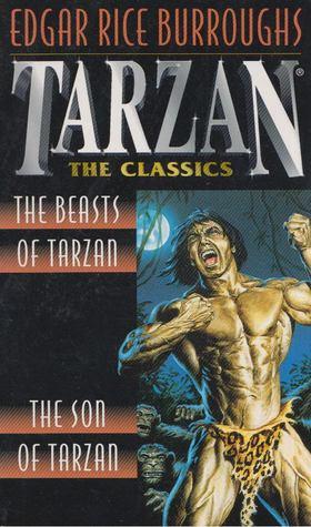 Edgar Rice Burroughs - The Beasts of Tarzan/The Son of Tarzan [antikvár]