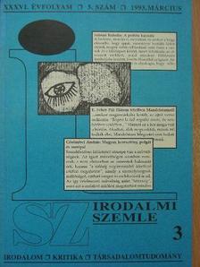 Ardamica Zorán - Irodalmi Szemle 1993. március [antikvár]