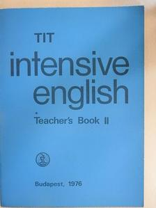 Inkei Péter - TIT intensive English - Teacher's Book II. [antikvár]