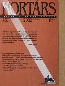 Ács Margit - Kortárs 2002. augusztus [antikvár]