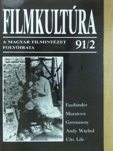 Andrej Tarkovszkij - Filmkultúra 1991. február [antikvár]