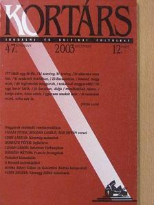 Ágh István - Kortárs 2003. december [antikvár]