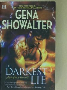 Gena Showalter - The darkest lie [antikvár]