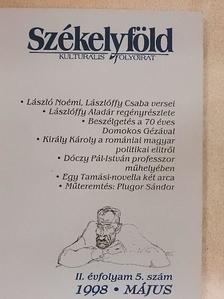 Albert Dávid - Székelyföld 1998. május [antikvár]