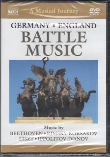 BEETHOVEN, RIMSKY-KORSAKOV, LISZT - BATTLE MUSIC - GERMANY - ENGLAND DVD