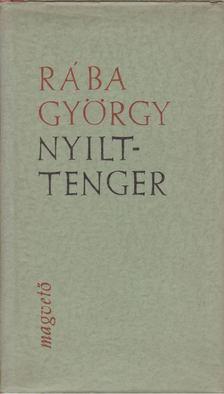 Rába György - Nyílttenger [antikvár]