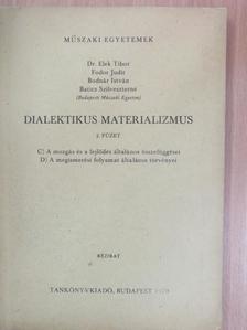 Baticz Szilveszterné - Dialektikus materializmus 2. [antikvár]