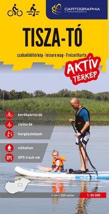Tisza-tó aktív térkép - kerékpáros-, vízi- és horgásztérkép