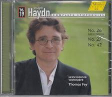 HAYDN JOSEPH - SYMPHONIES NO.26 ,27& 42 CD
