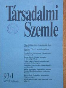 Kopátsy Sándor - Társadalmi Szemle 1993. január-december [antikvár]