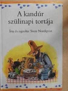Sven Nordqvist - A kandúr szülinapi tortája [antikvár]