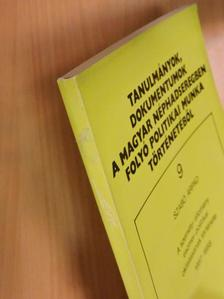 Szabó Árpád - A személyi állomány eszmei-politikai oktatásának története [antikvár]