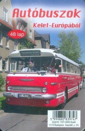 KÁRTYA - AUTÓBUSZOK KELET-EURÓPÁBÓL (48 LAP)