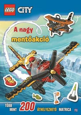Lego City - A nagy mentőakció - matricás foglalkoztató