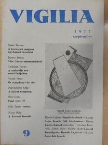 Balássy László - Vigilia 1977. szeptember [antikvár]
