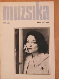 Bakonyi Pál - Muzsika 1981. július [antikvár]