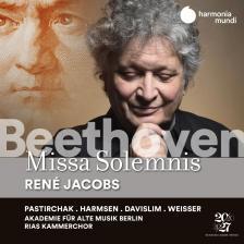 BEETHOVEN - MISSA SOLEMNIS CD RENÉ JACOBS