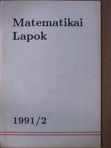 Erdős Pál - Matematikai Lapok 1991/2. [antikvár]