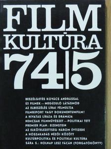 Almási Miklós - Filmkultúra 1974. szeptember-október [antikvár]