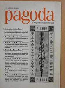 Balázs Géza - Pagoda 1998. április [antikvár]