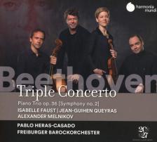 BEETHOVEN - TRIPLE CONCERTO CD PABLO HERAS-CASADO