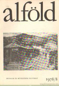 Juhász Béla - Alföld 1978/8. [antikvár]