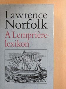 Lawrence Norfolk - A Lempriére-lexikon [antikvár]