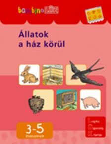 LDI-106 ÁLLATOK A HÁZ KÖRÜL 3-5 ÉVESEKNEK /BAMBINO-LÜK/