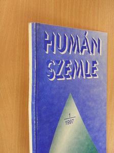 Angyal István - Humán szemle 1997/1. [antikvár]