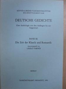 Friedrich Hölderlin - Deutsche Gedichte III. [antikvár]