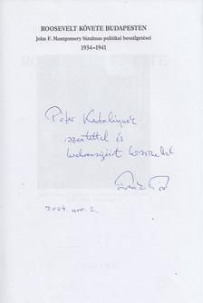 Frank Tibor - Roosevelt követe Budapesten (Frank Tibor által dedikált) [antikvár]