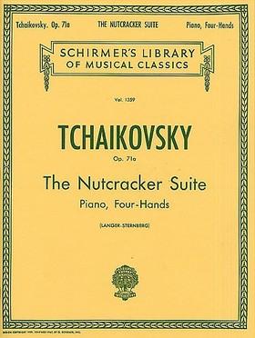 CSAJKOVSZKIJ / TCHAIKOVSKY - THE NUTCRACKER SUITE PIANO,FOUR-HANDS OP.71A