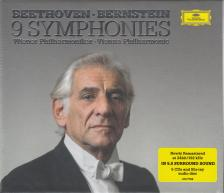BEETHOVEN - 9 SYMPHONIES 5CD+BLU-RAY LEONARD BERNSTEIN