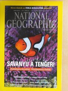 Elizabeth Kolbert - National Geographic Magyarország 2011. április [antikvár]