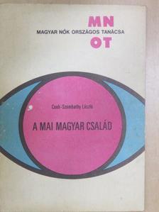 Cseh-Szombathy László - A mai magyar család [antikvár]