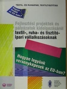 Dr. Császi Ferenc - Fejlesztési projektek és pályázatok kidolgozásáról textil-, ruha- és tisztítóipari vállalkozásoknak [antikvár]