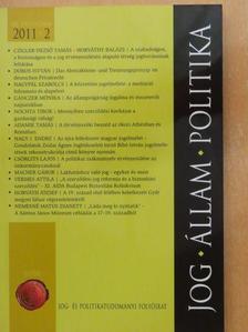 Adamik Tamás - Jog-Állam-Politika 2011/2. [antikvár]
