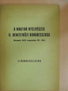 A. Molnár Ferenc - A Magyar Nyelvészek II. Nemzetközi Kongresszusa [antikvár]