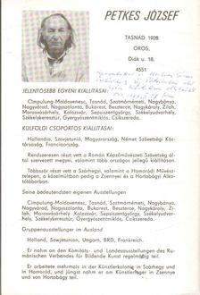 Sümegi György - Petkes József (dedikált) [antikvár]