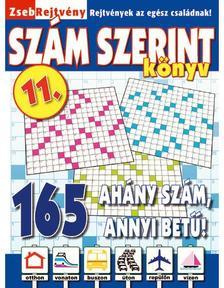 CSOSCH KIADÓ - ZsebRejtvény SZÁM SZERINT Könyv 11.