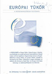 Hovanyecz László - Európai Tükör 2007. július-augusztus [antikvár]