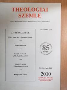 Béres Tamás - Theologiai Szemle 2010. Különszám [antikvár]