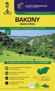 Cartographia - Bakony észak turistatérkép