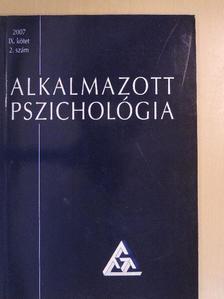 Ács Éva - Alkalmazott pszichológia 2007/2. [antikvár]