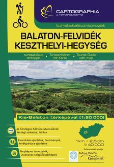 Cartographia - Balaton-felvidék, Keszthelyi-hegység turistakalauz